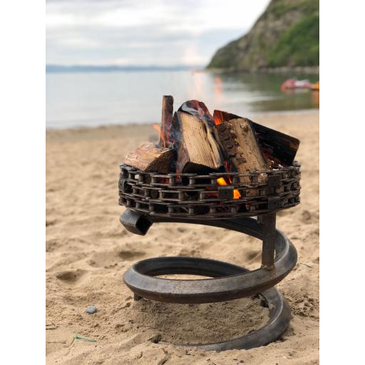 Spring Chain Beacon Fire Bowl